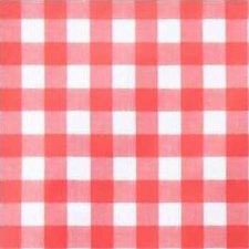35x140 Restje tafelzeil grote ruit rood