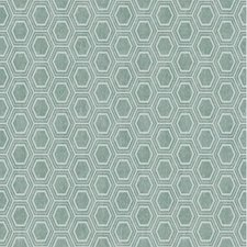 Rond tafelzeil Honingraat groen/grijs 137cm