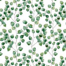 Ovaal tafelzeil fris groen blad