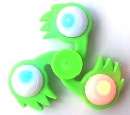 Fireball LED spinner groen