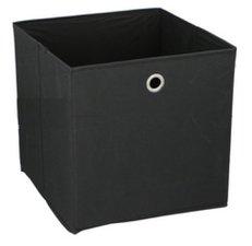 Opbergdoos zwart 30x30cm (past in Ikea Kallax)