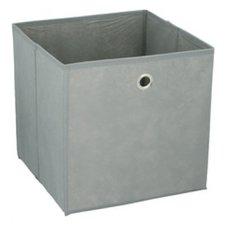 Opbergdoos grijs 30x30cm (past in Ikea Kallax)