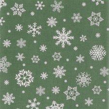 Kerst tafelzeil groen 140x250cm