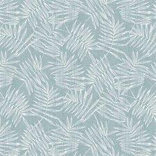 40x140cm Restje tafelzeil bamboe zeeblauw