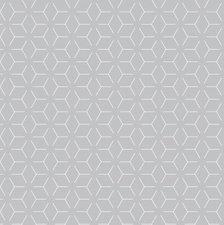 60x140cm Restje tafelzeil geometrisch grijs