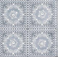 50x140cm Restje tafelzeil kant rozen wit