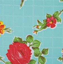 50x120cm Restje Mexicaans tafelzeil rosendal mint