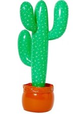 Opblaasbare cactus 85/90cm