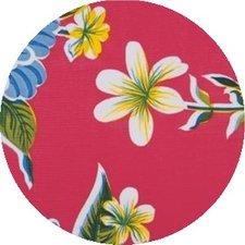 Rond Mexicaans tafelzeil fortin roze (120cm)