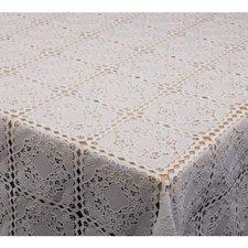 50x140cm Restje tafelzeil kant wit