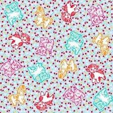 Kitsch Kitchen plakfolie Pets and Cherries 200x45cm