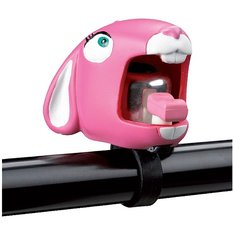 Fietsbel konijn roze (Crazy Stuff)