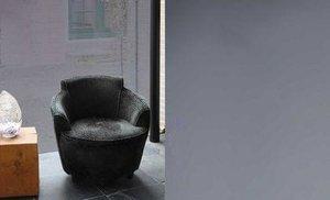 Zonwerende raamfolie statisch donkergrijs (50cm)