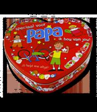 Trommel hart - Speciaal voor papa