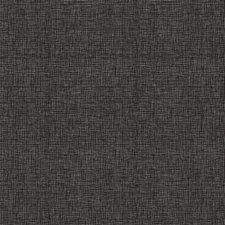 Statisch raamfolie linnenlook zwart (46cm)