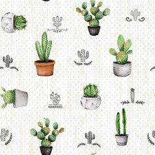 Wasbaar tafelzeil cactus Mexico