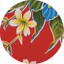 Rond Mexicaans tafelzeil  fortin rood (120cm)
