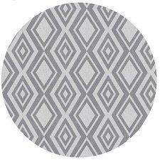 Rond tafelzeil Diamente grijs (137cm)