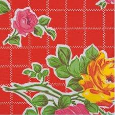 35x120cm Restje Mexicaans tafelzeil rosendal rood