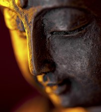 Tegelsticker boeddha sfeer 15x15cm