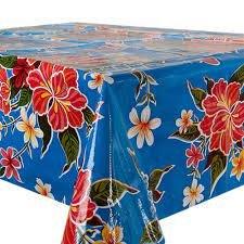 60x120cm Restje Mexicaans tafelzeil fortin donkerblauw