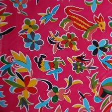 Mexicaans tafelzeil pauw roze
