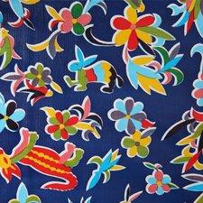 Ovaal tafelzeil Mexicaans tafelzeil pauw donkerblauw