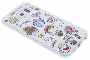 Samsung Galaxy S6 Blond Amsterdam telefoonhoesje Happy days