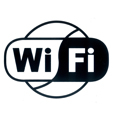 Pictogram sticker WiFi