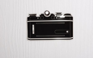 Eye spy deursticker fotocamera