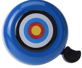 Fietsbel cirkels blauw