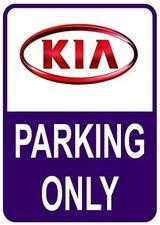 Sticker parking only Kia