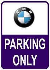 Sticker parking only BMW