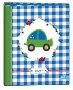 Lief babyboek blauw