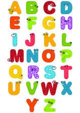 Fietsstickers lollige letters