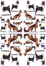 Fietsstickers herdershond