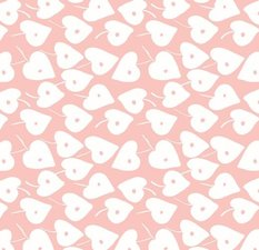 Plakfolie Lola Love Leaf roze 300x45cm