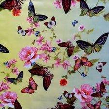 Ovaal tafelzeil butterfly vlinders