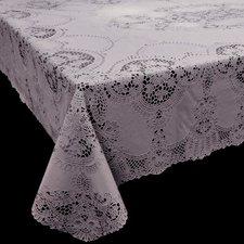 Tafelkleed buiten vinyl lila 135x180cm