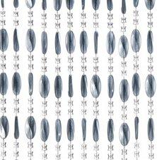 Kralengordijn Charlotte 90x220cm grijs (79 strengen)
