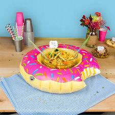 Opblaasbaar dienblad donut