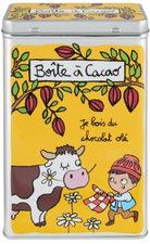 Derriere La Porte cacao blik geel