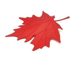 Qualy deurstopper herfstblad rood