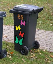 Kliko stickers vlinders