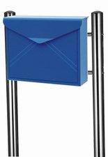 Envelop brievenbus blauw met statief