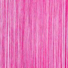 Draadjesgordijn fuchsia roze 100x250cm