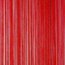 Draadjesgordijn rood 100x250cm