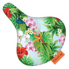 Zadelhoesje bikecap tropical flower