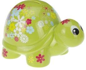 Spaarpot retro schildpad groen