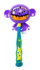 Tandenborstelhouder monster paars
